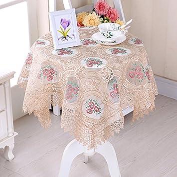 GS ~ LY decoración/romántico/cálido/cristal hilo bordado mantel mantel mesilla de noche para ordenador funda multiusos toalla aplicable fiesta Hotel casa ...