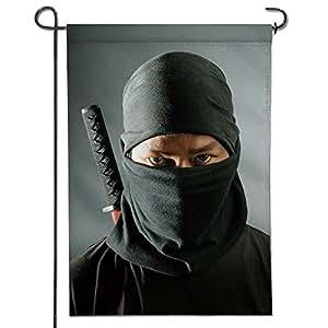Amazon.com : SCOCICI1588 Glory Garden Flag, Ninja assassin ...