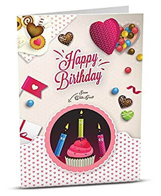 Amazon igreet augmented reality greeting card happy birthday igreet augmented reality greeting card happy birthday birthday candy m4hsunfo