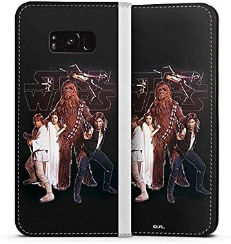 DeinDesign Leder Flip Case kompatibel mit Samsung Galaxy S8 Plus Tasche H/ülle Star Wars Merchandise Fanartikel Rebellen Armee