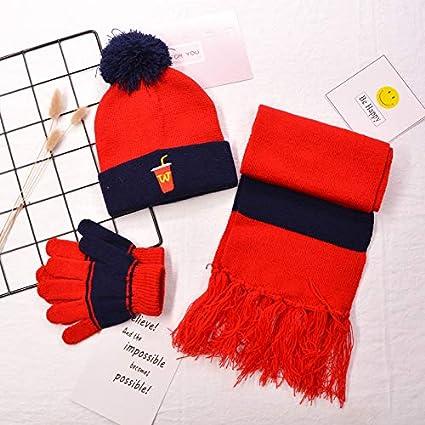 4b11292fc7c 2018 Winter New Children s hat,Hat Scarf Gloves na0615 Children s hat Scarf  Gloves Three-
