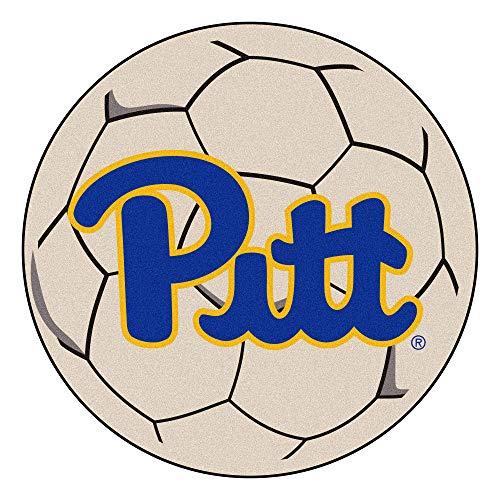 (Fan Mats University of Pittsburgh Soccer Ball Rug)