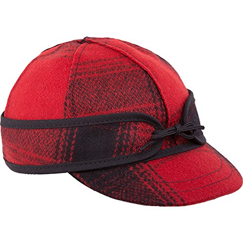 (Stormy Kromer Kid's Lil' Kromer Cap,Red,6.25)