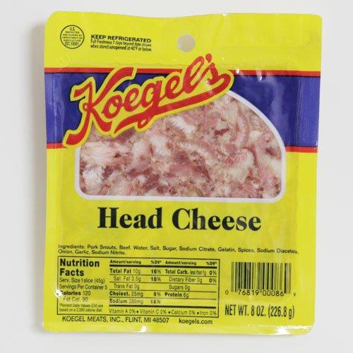 Koegel Head Cheese 5-8oz packs by Koegel Meats Inc