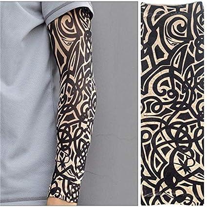 de tatuaje de moda de la manga del brazo ciclismo mangas deportes ...