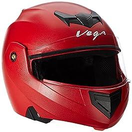 Vega Crux Flip-up Helmet (Red, M)