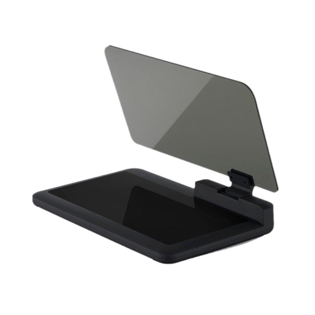 Head Up Display, Inkach Smartphone Projector HUD Holder for Car GPS Navigator (Black)