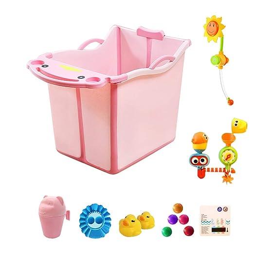 Amazon.com: GY Bañera infantil plegable Bañera portátil de ...