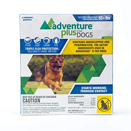 Adventure Plus Flea and Tick Prevention for Dogs