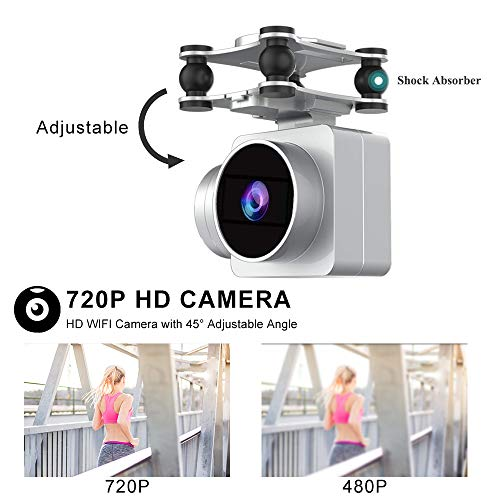 WiFi 720P HD Camera for Live Video RC Quadcopter JJRC H68