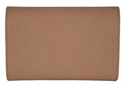 af0ea5cc74d Gucci Women s Whiskey Beige Leather French Wallet W Coin Pocket at Amazon  Women s Clothing store