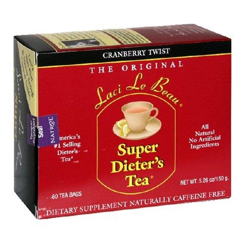 Natrol Laci Le Beau Super Dieter's Tea, 60 Count