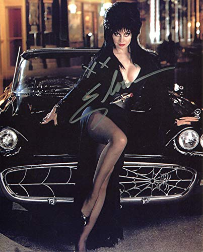 Cassandra Peterson Signed/Autographed Elvira Mistress of the Dark 8x10 glossy photo. Includes Fanexpo Fanexpo Certificate of Authenticity and Proof. Entertainment Autograph Original.