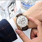 NIBOSI Chronograph Black Dial Men's Watch