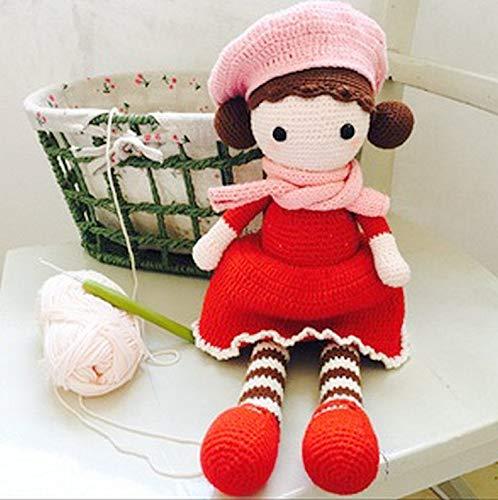 FidgetFidget 上海钩针刘长安黑檀红木手工 Handmade Crochet Hooks Stainless Steel Needle Wood Wooden Handle 22pcs Set by FidgetFidget (Image #6)