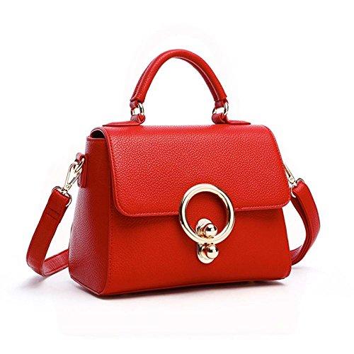 Bag And Spring Red Summer Shopping Travel Shoulder Bag New Bag Messenger Pink 2018 AwTFB