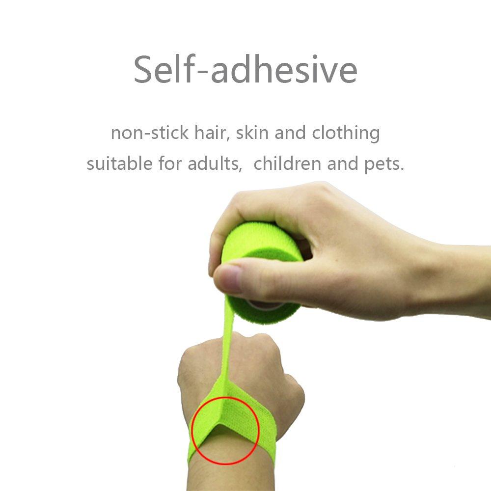 NoyoKere Sport Kinesiology Waterproof Bandage Wraps Elastic Adhesive Tape Stretch