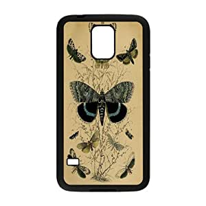 Butterfly Art Pattern Hard Back Phone Case Cover For Samsung Galaxy S5 Case TSL312173