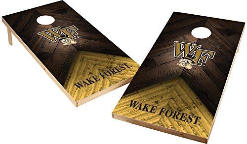 (Wild Sports NCAA College 2'x4' Wake Forest Demon Deacons Cornhole Set)