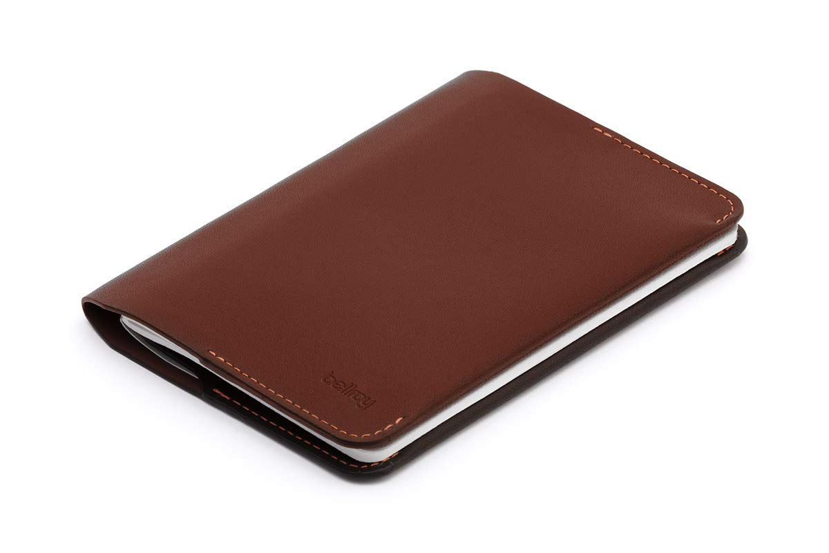 Bellroy Leather Notebook Cover Mini Cocoa