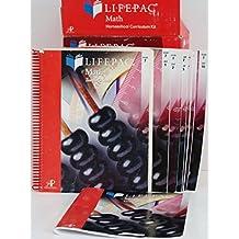 Lifepac Math 7th Grade: Home School Curriculum Kit