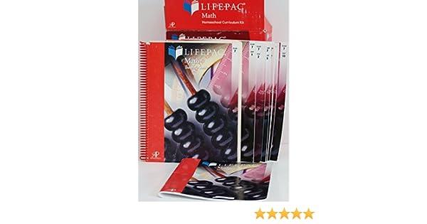 Lifepac Math 7th Grade: Home School Curriculum Kit: 7th Grade ...