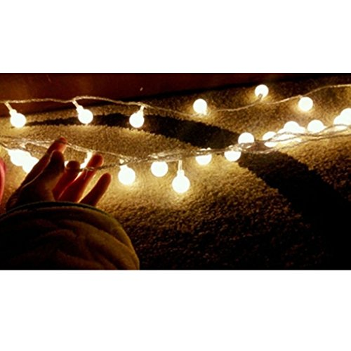 Meidus 5M 50LED Waterproof Color Changing Ball String Light for Holiday Outdoor in the UAE ...