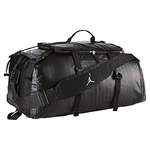 Nike Air Jordan Jumpman Black Duffle Gym Bag BA8052-010 by NIKE