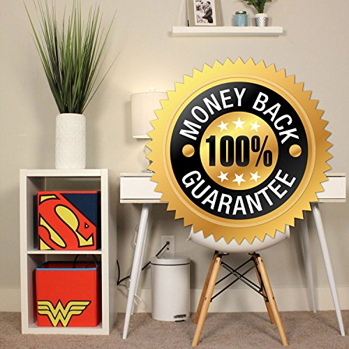 Everything Mary Superman Collapsible Storage Bin by DC Comics - Cube Organizer for Closet, Kids Bedroom Box, Playroom Chest - Foldable Home Decor Basket Container with Strong Handles and Design by Everything Mary (Image #6)