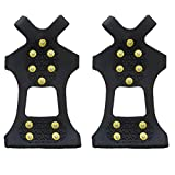 Traction Cleats For Ice and Snow,Ice & Snow Grips Cleat...