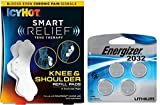 Icy Hot Smart Relief Tens Therapy Knee and Shoulder Refill Kit, 2 Pads Plus 4 Replacement Batteries