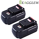 Eagglew 2-Pack 18V 3.0Ah NI-MH Replacement Battery for Porter Cable PC18B PCC489N PCMVC PCXMVC High Capacity Cordless Drill