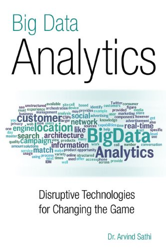 Big Data Analytics  Disruptive Technologies For Changing The Game