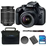 Canon EOS 3000D DSLR Camera with EF-S 18-55mm f/3.5-5.6 IS II Lens + 16 GB Card (International Version)