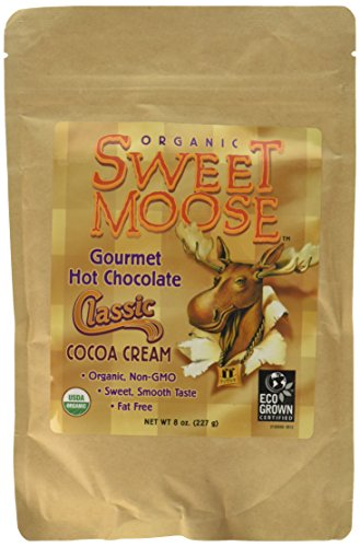 FunFresh Foods Sweet Moose Organic Gourmet Hot Chocolate/Classic Cocoa Cream Energy Strip, 2 Count (Sweet Moose)