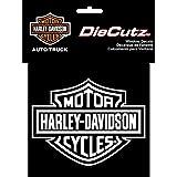Harley Davidson Die Cutz - White Decal