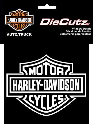 ey Davidson Die Cutz - White Decal (Diesel Harley Davidson)