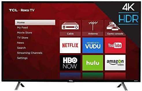 TCL 49S405 - Televisor 4K UHD HDR Roku Smart LED (49 pulgadas ...