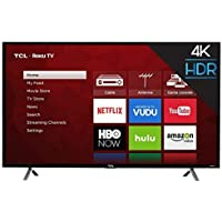 TCL 49S403 LED 4K 120 Hz Wi-Fi Roku Smart TV, 49' (Certified Refurbished)