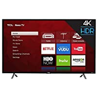 "TCL 49S403 49"" 4K UHD HDR Roku Smart LED TV (Certified Refurbished)"
