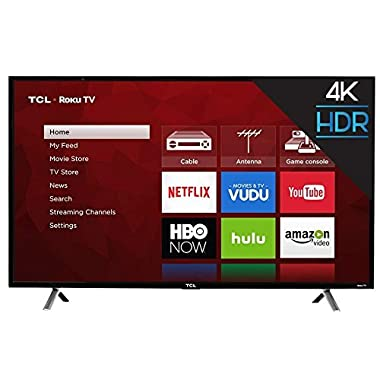 "TCL 49S403 49"" 4K UHD HDR Roku Smart LED TV (Certified Refurbished)"