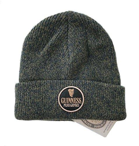 Lucky Brand Men's Guinness Beer Wool Beanie (Green) ()