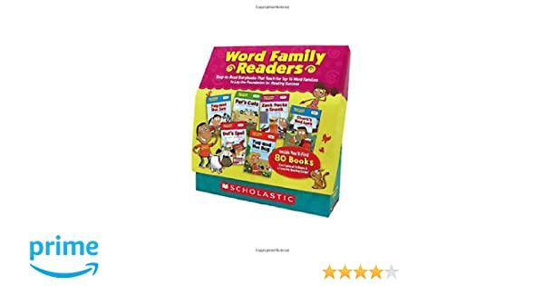 Amazon.com: Word Family Readers Set: Easy-to-Read Storybooks That ...