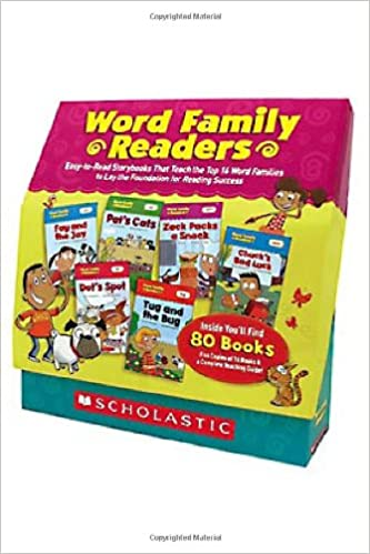 amazon com word family readers set easy to read storybooks that