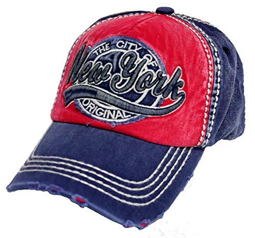 Robin Ruth The City of New York Original Baseball Hat Cap Blue/Red]()