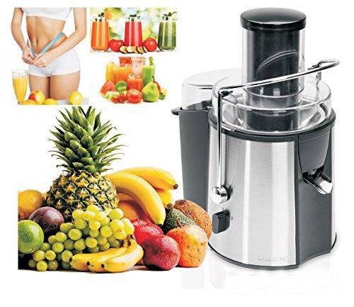 Clatronic, Licuadora de alta Potencia para Frutas y Verduras. Semi ...