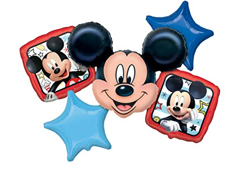 Amscan 3622601Set Mickey and Programmable Car Foil