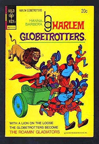 HARLEM GLOBETROTTERS 7 5.0 VGF 1973 WHITMAN CBS TV SPORTS CARTOON SHOW