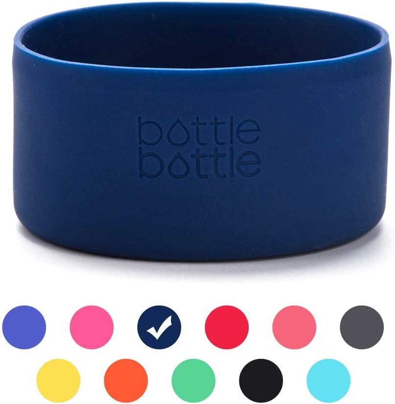 bottlebottle Protective Silicone Sleeve Fit 12-64oz for Hydro Flask,Simple Modern,Takeya,MIRA, Iron Flask and Other Brand Water Bottle, BPA Free Anti-Slip Bottom Sleeve Cover