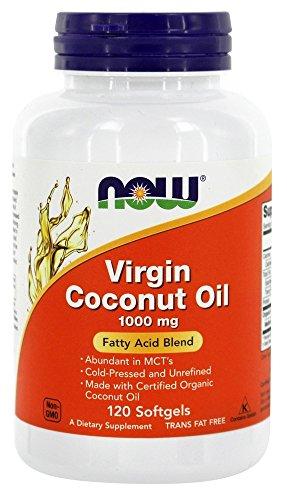 NOW Foods Virgin Coconut Softgels